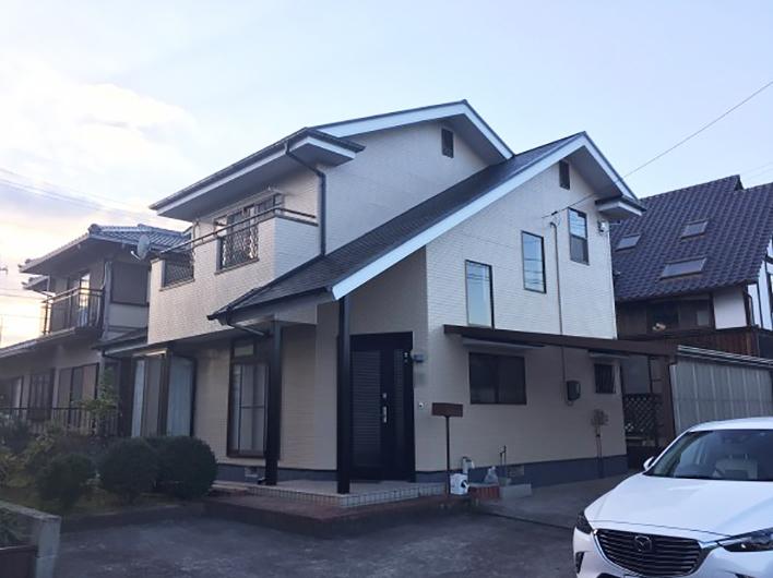 笠岡市 F様邸 屋根・外壁塗装 (1)