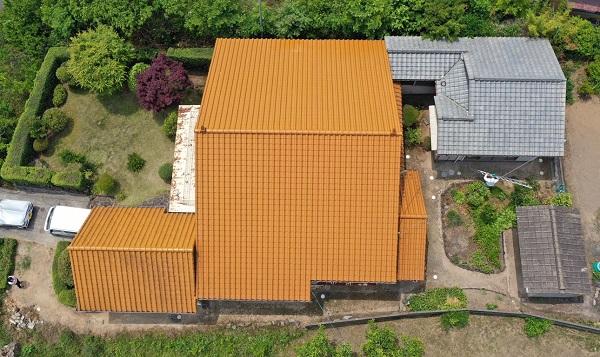 広島県福山市 屋根工事・外壁塗装 ドローン 無料現場調査 (3)