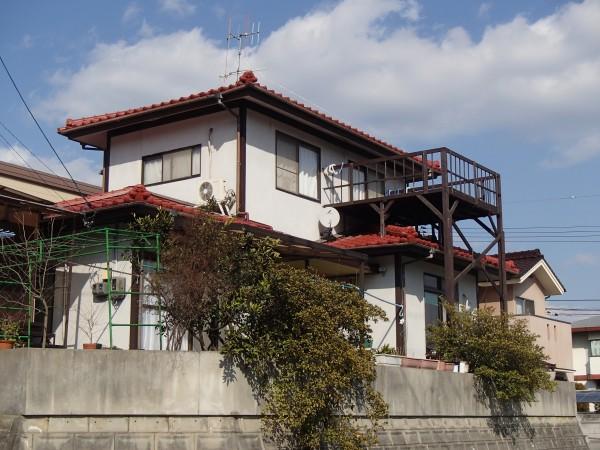 笠岡市 H様 瓦葺き替え工事 (1)