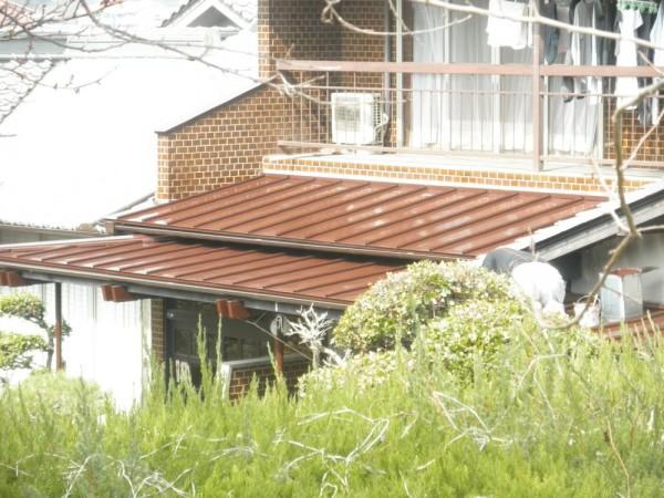 岡山県浅口郡里庄町 F様邸 屋根塗装 (2)