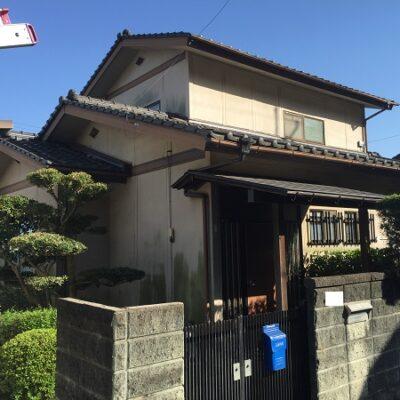 浅口市鴨方町 K様邸 屋根葺き替え・外壁塗装 施工前