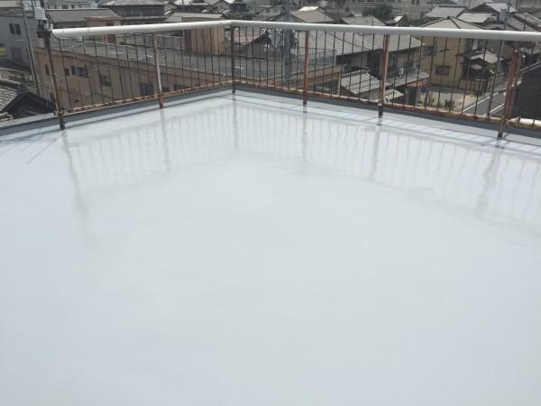 岡山県浅口市 屋上防水リフォーム工事 (2)