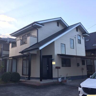 岡山県笠岡市 F様邸 屋根塗装・外壁塗装 色決めについて 完工 (1)