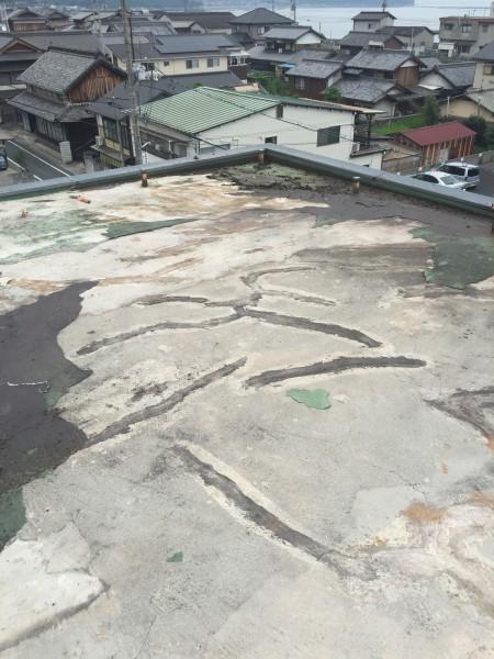 岡山県浅口市 屋上防水リフォーム工事 (3)