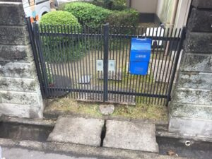 岡山県浅口市鴨方町 K様邸 屋根葺き替え・外壁塗装 門扉取り替え