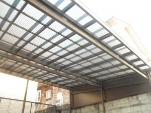 岡山県浅口市 屋根塗装・外壁塗装・カーポート波板張替え・土間工事1 (3)