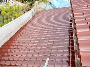 岡山県浅口市 屋根塗装 (2)