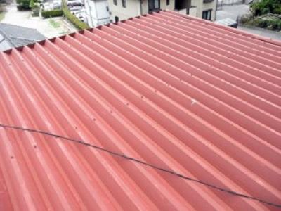 岡山県笠岡市 T様邸 屋根塗装 (2)