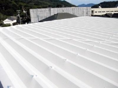 岡山県笠岡市 T様邸 屋根塗装 (1)